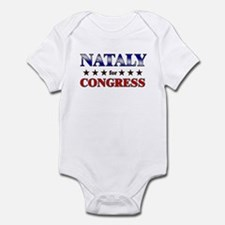 NATALY for congress Infant Bodysuit