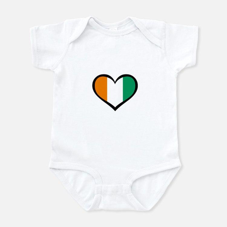 Ivory Coast Love Infant Bodysuit