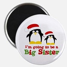 penguin big sister Magnet