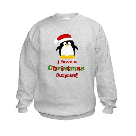 penguin big sister Kids Sweatshirt