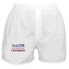 NASIR for congress Boxer Shorts