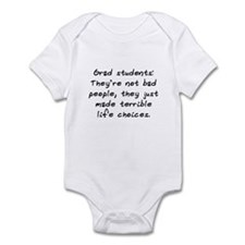 """Grad Students"" Infant Bodysuit"