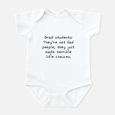 """""""Grad Students"""" Infant Bodysuit"""