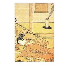 18TH CENTURY GOSETSU HANA-AWA Postcards (Package o