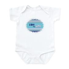 Blue Masa Infant Bodysuit