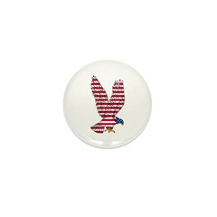 American Eagle Mini Button (100 pack)
