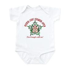 Christmas Light Stringer Upper Infant Bodysuit