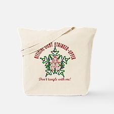 Christmas Light Stringer Upper Tote Bag