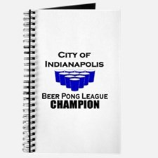 City of Indianapolis Beer Pon Journal
