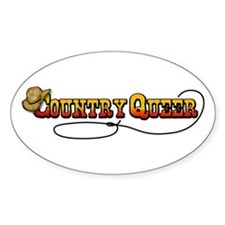 Cowboy Queer Oval Decal