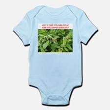 TIME TO ENJOY LIFE Infant Bodysuit