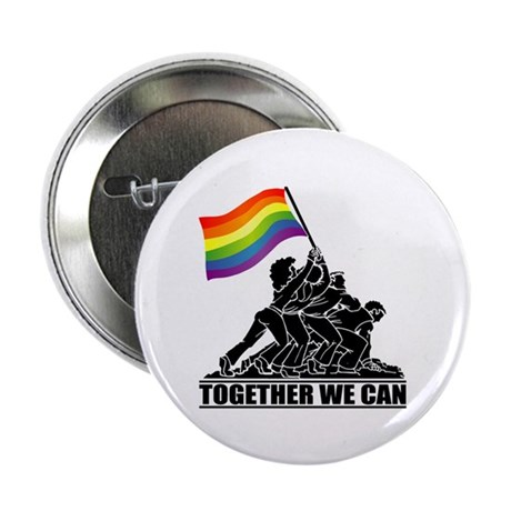 """Together We Can 2.25"""" Button (10 pack)"""