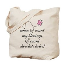 Chocolate Blessings Tote Bag