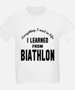 I learned from Biathlon T-Shirt