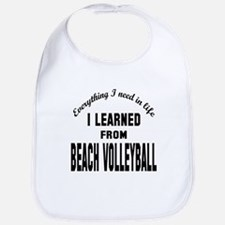 I learned from Beach Volleyball Bib