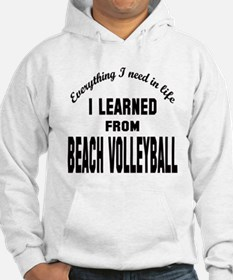 I learned from Beach Volleyball Hoodie