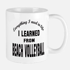 I learned from Beach Volleyball Mug