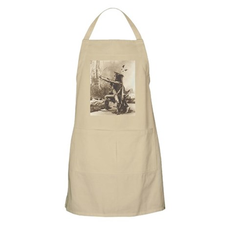 Eagle Shirt with Bow BBQ Apron