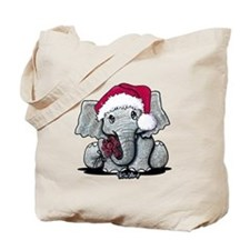 Holiday Elephant Tote Bag
