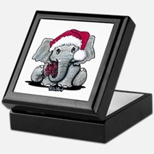 Holiday Elephant Keepsake Box