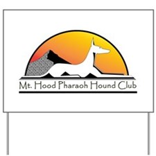 Unique Pharaoh hounds Yard Sign