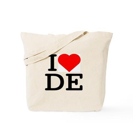 I Love Delaware - Tote Bag