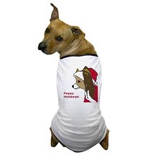 Pappy Holidays! Dog T-Shirt