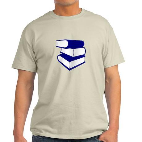 Stack Of Blue Books Light T-Shirt