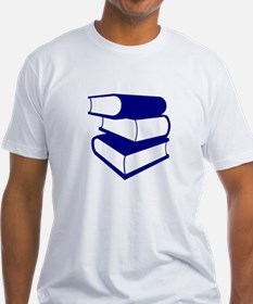 Stack Of Blue Books Shirt