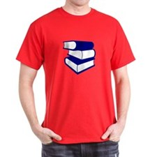 Stack Of Blue Books T-Shirt