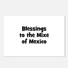 Blessings to the Mixe of Mexi Postcards (Package o