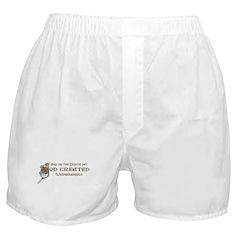 God Created Weimaraners Boxer Shorts