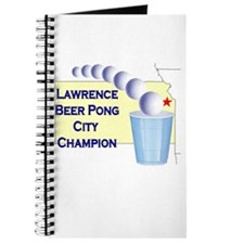 Lawrence Beer Pong City Champ Journal