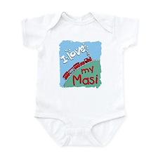 Train Masi Infant Bodysuit