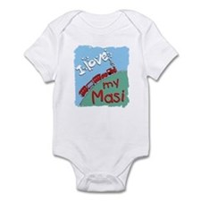 Train Masi Onesie