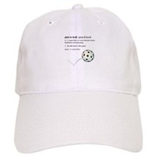 pickleball definition with ba Baseball Cap