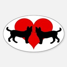 Cat lovers Decal