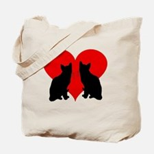 Unique Couples valentines Tote Bag