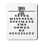 Never Misunderestimate the Po Mousepad