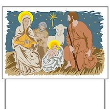 Christmas Nativity Yard Sign