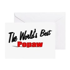 """""""The World's Best Popaw"""" Greeting Card"""