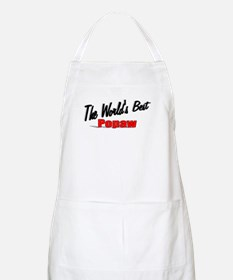 """The World's Best Popaw"" BBQ Apron"