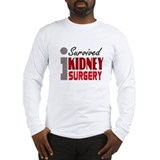 Kidney transplant Long Sleeve T-shirts