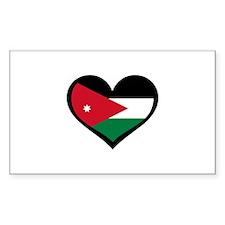 Jordanian Love Jordan Rectangle Decal