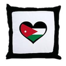 Jordanian Love Jordan Throw Pillow