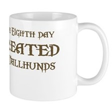 God Created Vallhunds Coffee Mug