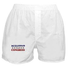 MUHAMMAD for congress Boxer Shorts