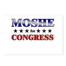 MOSHE for congress Postcards (Package of 8)