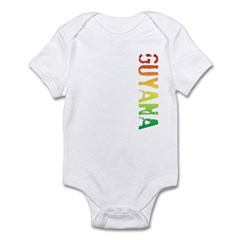 Guyana Stamp Infant Bodysuit