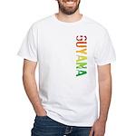 Guyana Stamp White T-Shirt